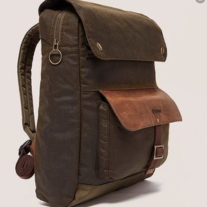 Barbour Waxed olive Urban Backpack